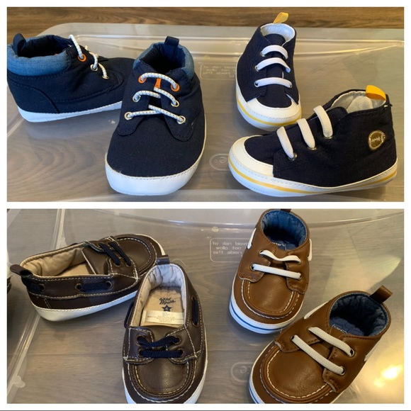 8497398ee4de8 Carter s Other - Carter s Baby Boy Shoes Size 4